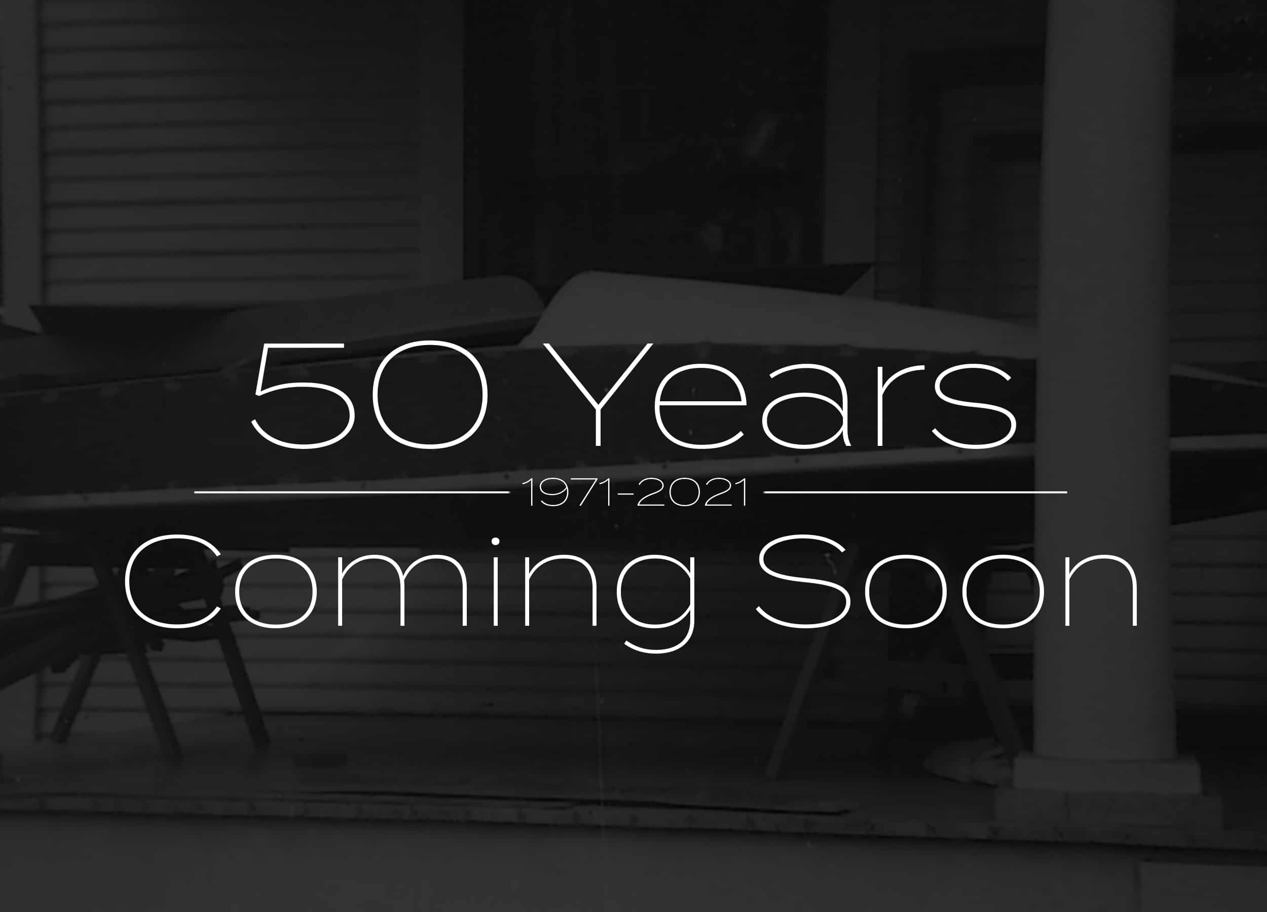 50 year story coming soon