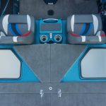 Bass Cat Lynx rear storage boxes