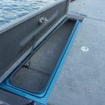 Bass Cat Lynx port rod locker