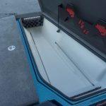 Bass Cat Lynx rod locker