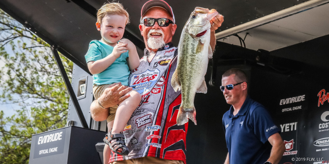 Bill McDonald Fishing