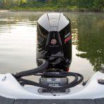 Bass Cat Pantera II Mercury Engine