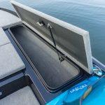 front starboard storage open