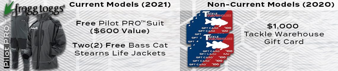 Spring Promotion Bass Cat