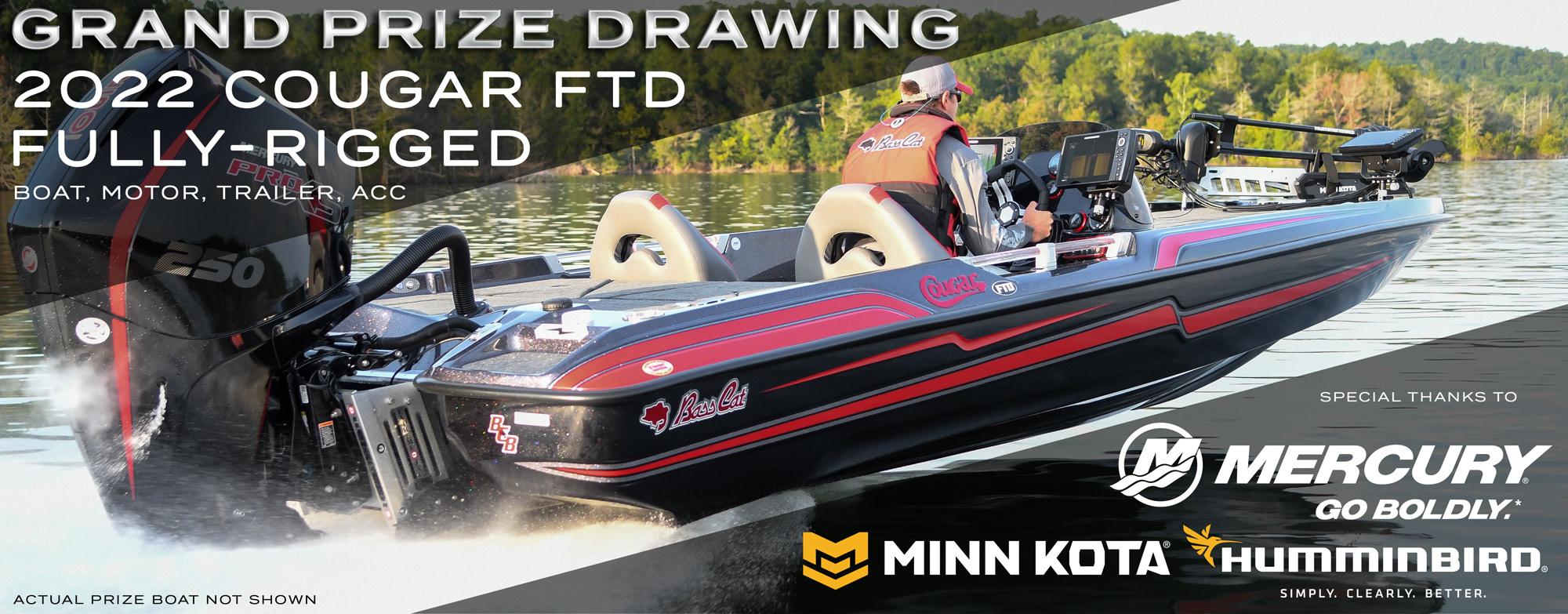 BCB OI Prize Boat Cougar FTD